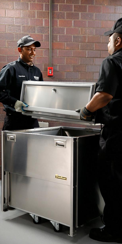 Hobart service technicians